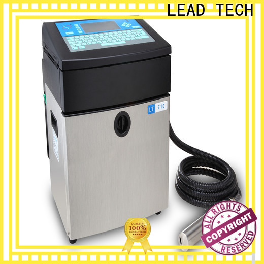 LEAD TECH innovative printer continuous ink system philippines for business for drugs industry printing