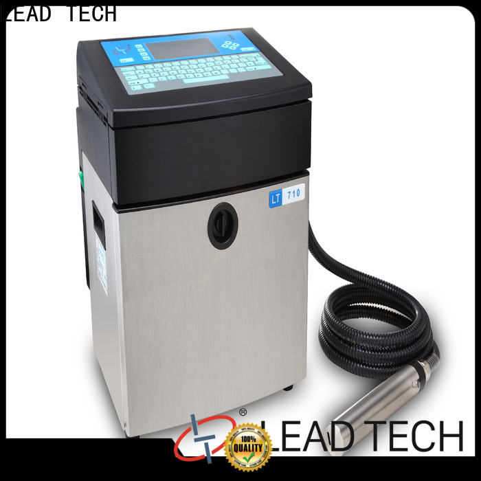 LEAD TECH pigment inkjet printer factory for pipe printing