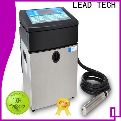 LEAD TECH bulk linx inkjet printer easy-operated for beverage industry printing