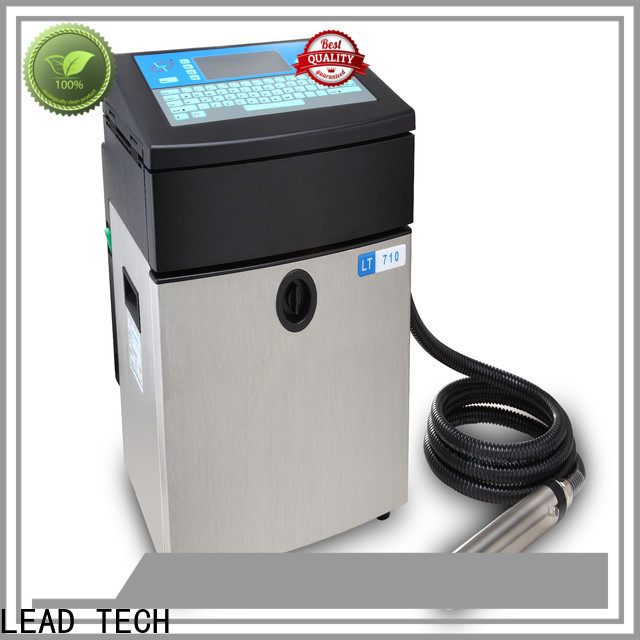 LEAD TECH Wholesale domino inkjet printer custom for building materials printing