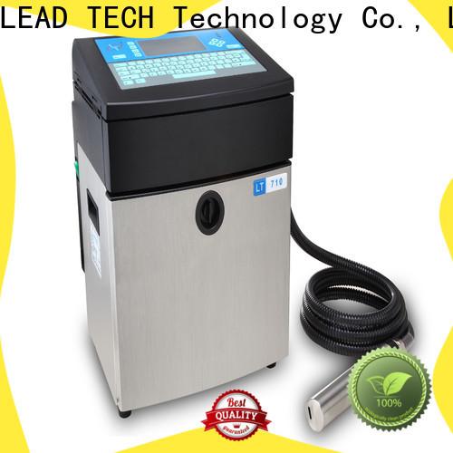 LEAD TECH inkjet printer information manufacturers for beverage industry printing