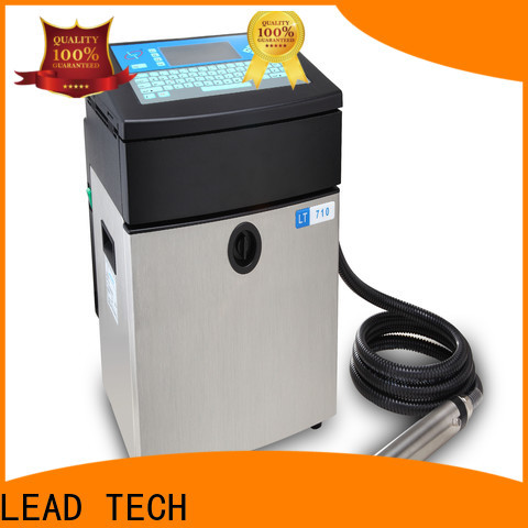 LEAD TECH recommended inkjet printers manufacturers for daily chemical industry printing