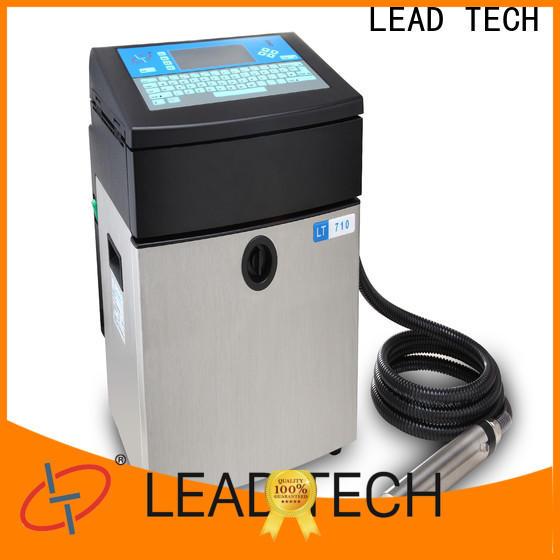 LEAD TECH define printer company for tobacco industry printing