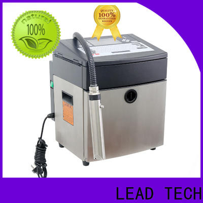 LEAD TECH high-quality inline inkjet printing custom for pipe printing
