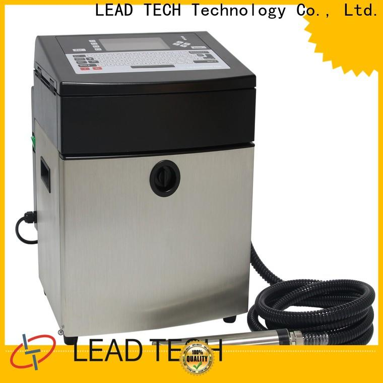 LEAD TECH industrial inkjet coder manufacturers for building materials printing