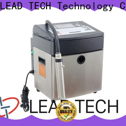 LEAD TECH inkjet printer news high-performance for beverage industry printing
