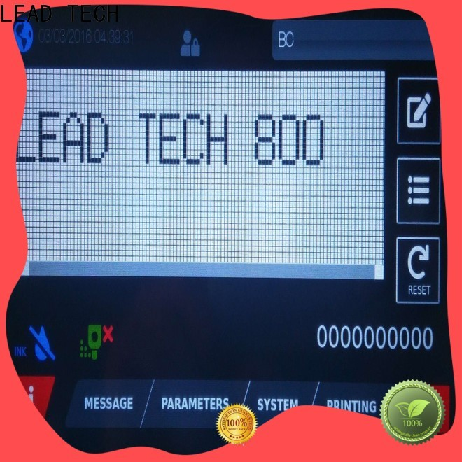 LEAD TECH high-quality leadtech coding Supply for beverage industry printing