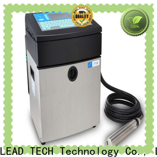 LEAD TECH Latest leadtech coding manufacturers for daily chemical industry printing