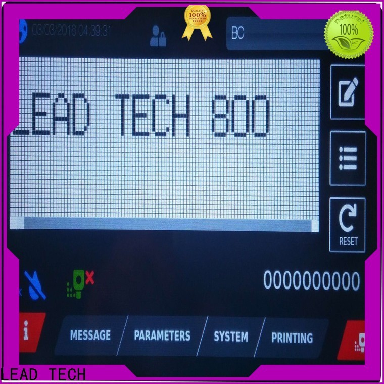 LEAD TECH innovative leadtech coding professtional for auto parts printing