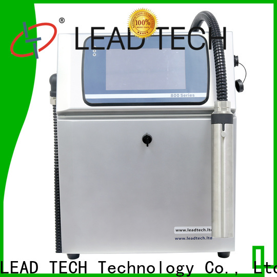 hot-sale leadtech coding factory for daily chemical industry printing