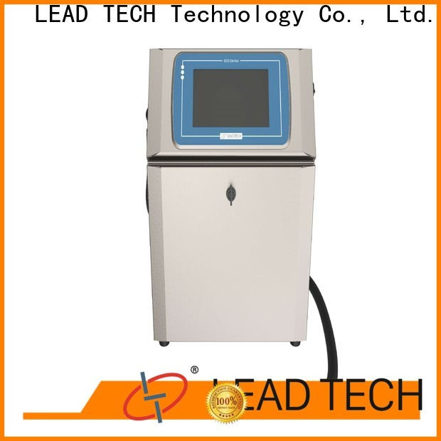Latest leadtech coding factory for beverage industry printing