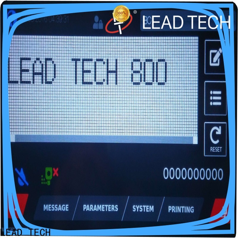 LEAD TECH leadtech coding Supply for building materials printing