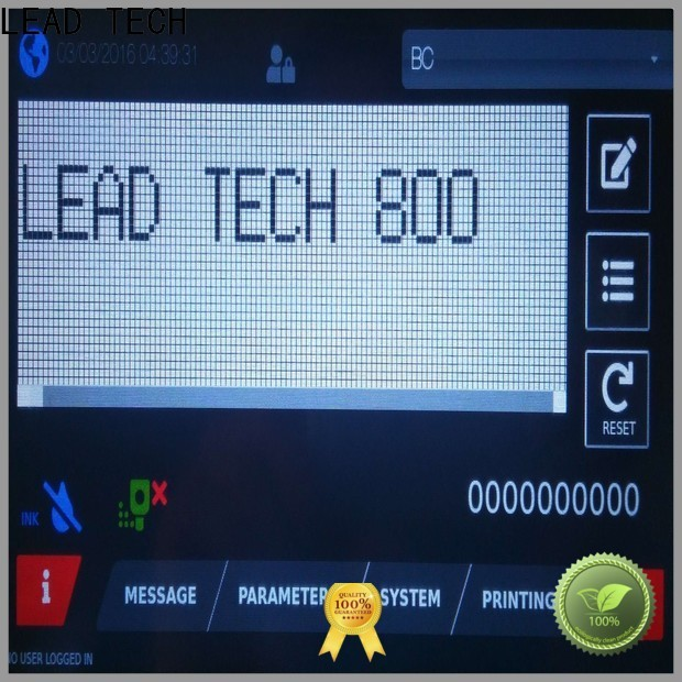 LEAD TECH Latest leadtech coding for business for auto parts printing