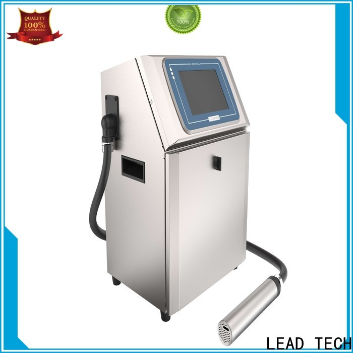 LEAD TECH leadtech coding factory for beverage industry printing