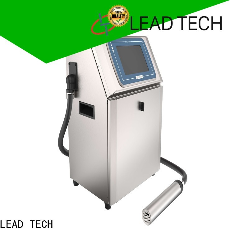 dust-proof leadtech coding company for beverage industry printing