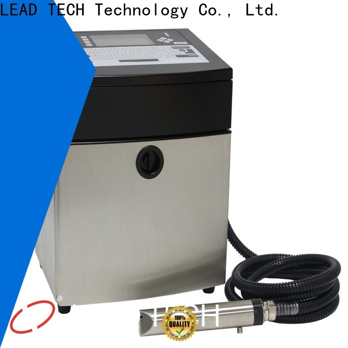 LEAD TECH dust-proof leadtech coding professtional for daily chemical industry printing