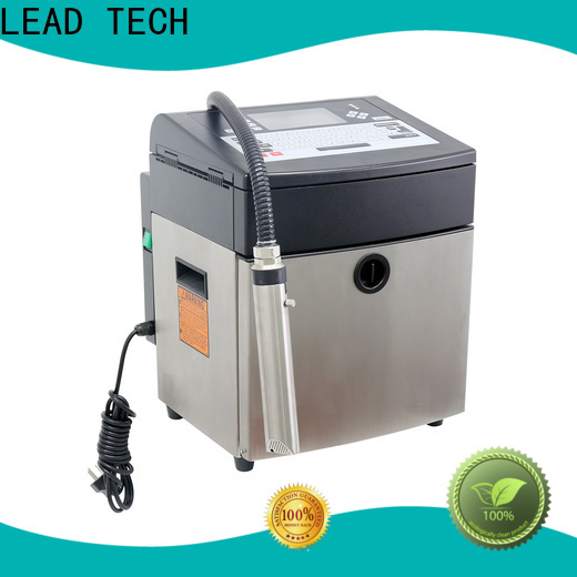 LEAD TECH leadtech coding for business for beverage industry printing