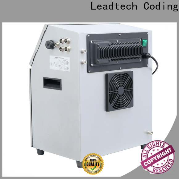 commercial leadtech coding company for beverage industry printing