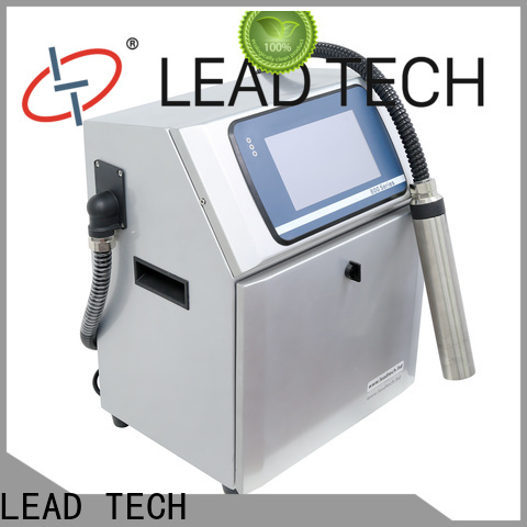 Wholesale leadtech coding company for beverage industry printing