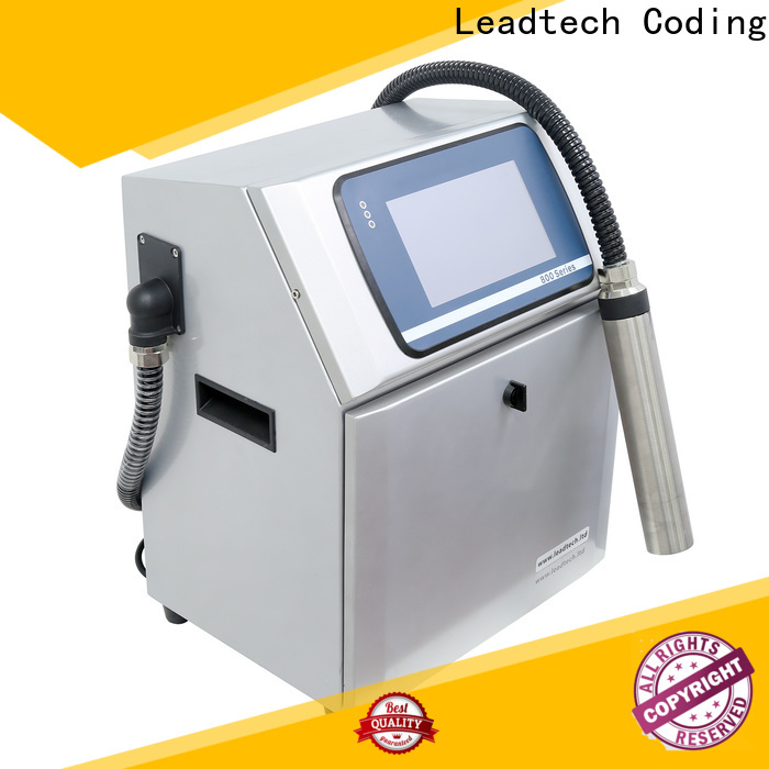 Leadtech Coding Latest leadtech coding factory for beverage industry printing