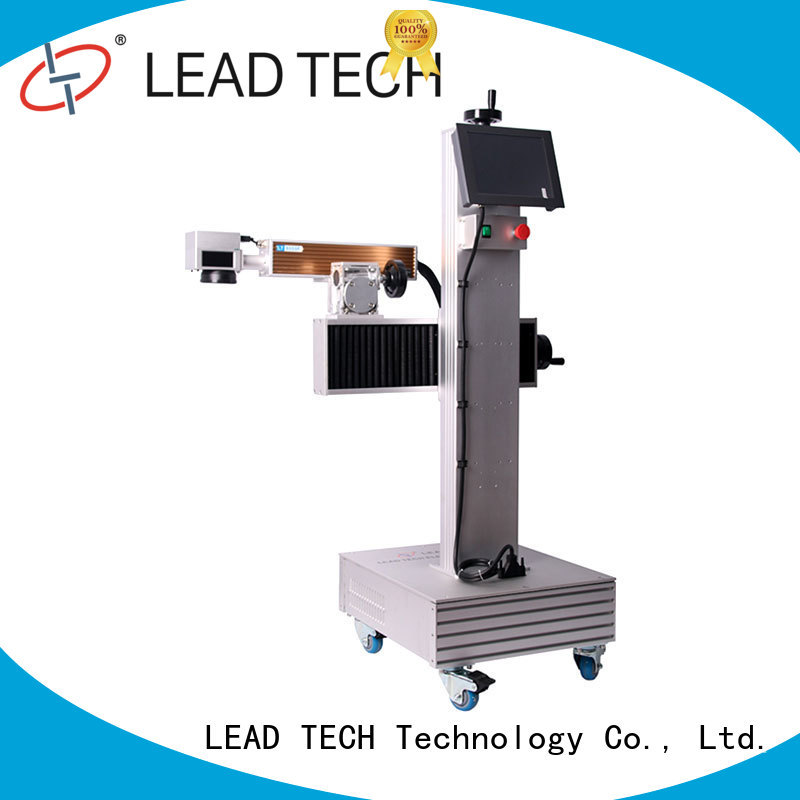 LEAD TECH commercial laser etching printer fast-speed top manufacturer