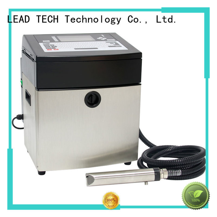 LEAD TECH commercial best continuous ink printer at discount