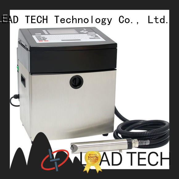 LEAD TECH industrial inkjet printer good heat dissipation reasonable price