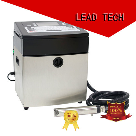 LEAD TECH commercial continuous inkjet printer high-performance cooling structure