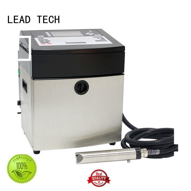 LEAD TECH continuous inkjet printer easy-operated best workmanship