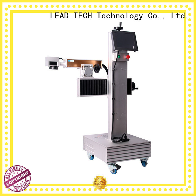 LEAD TECH laser marking machine easy-operated at discount