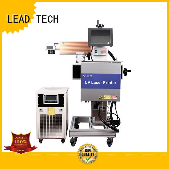 water cooling structure uv laser marking machine easy-operated for sale LEAD TECH