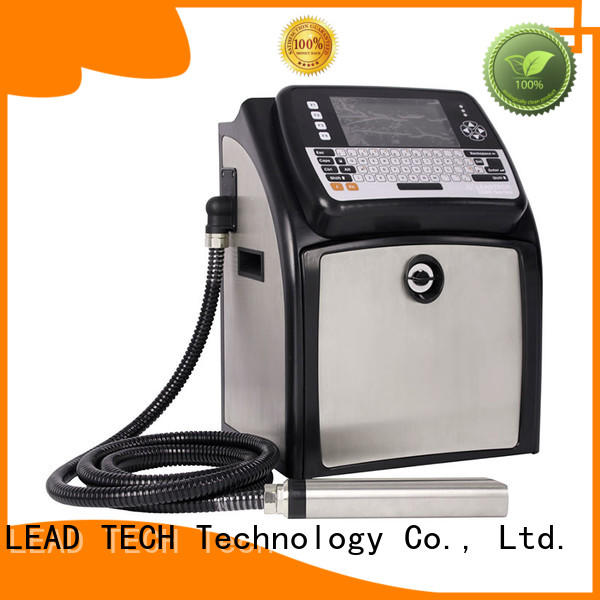 LEAD TECH hot-sale inkjet printing machine OEM reasonable price