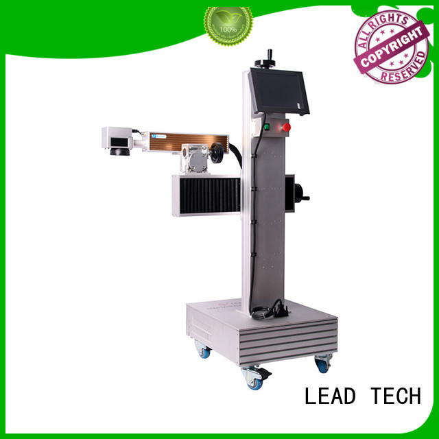 LEAD TECH 3d laser glass etching machine easy-operated for daily chemical industry printing