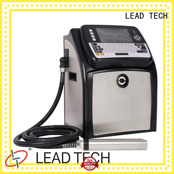 LEAD TECH high-quality inkjet coding machine at discount