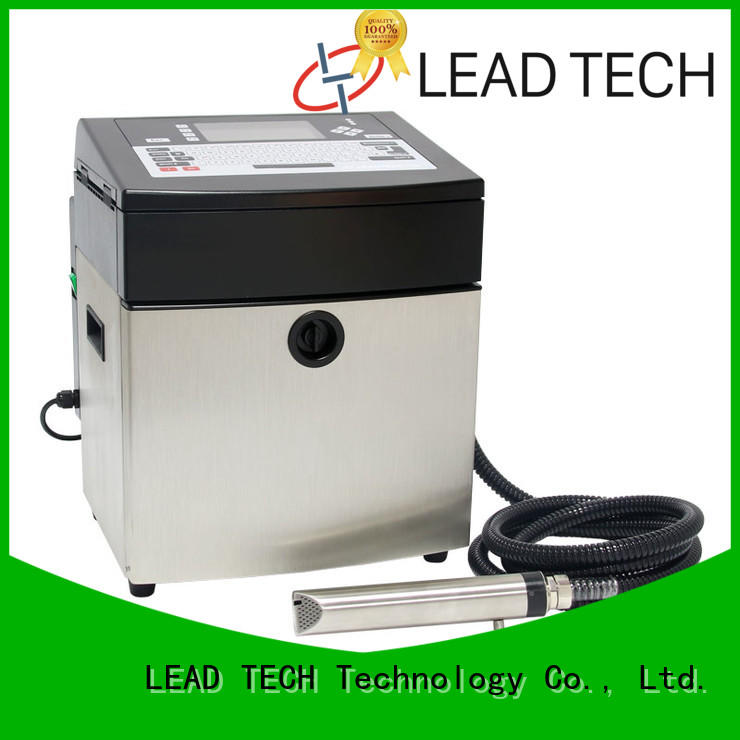 LEAD TECH cij printer easy-operated aluminum structure