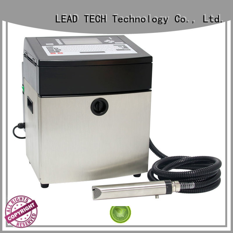 LEAD TECH commercial inkjet coder custom cooling structure