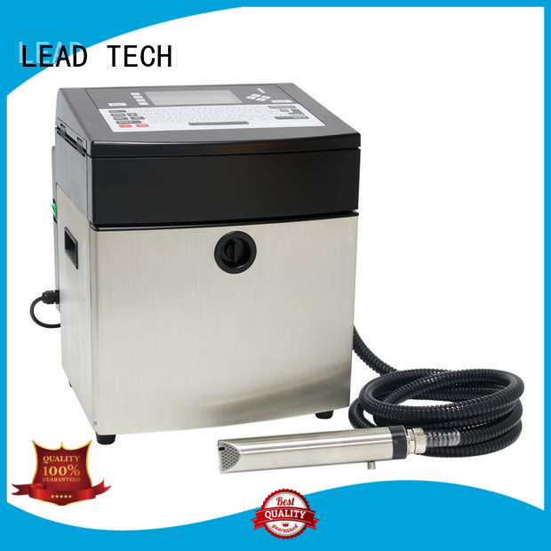 LEAD TECH high-quality best continuous ink printer custom cooling structure