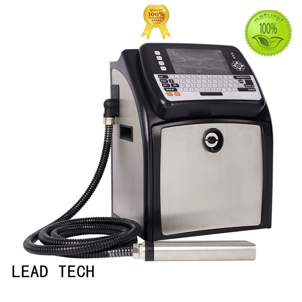 LEAD TECH dust-proof continuous inkjet printer high-performance reasonable price