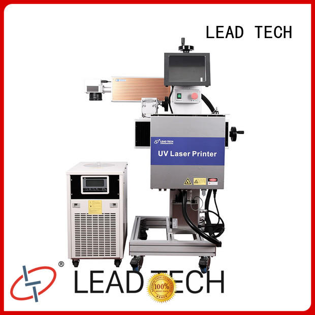 LEAD TECH handheld laser etcher factory for food industry printing