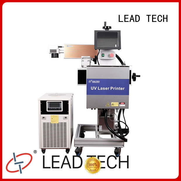 LEAD TECH 3d laser marking machine fast-speed for drugs industry printing