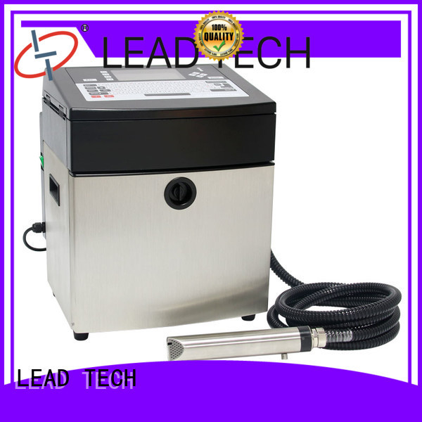 LEAD TECH innovative industrial continuous inkjet printers best workmanship