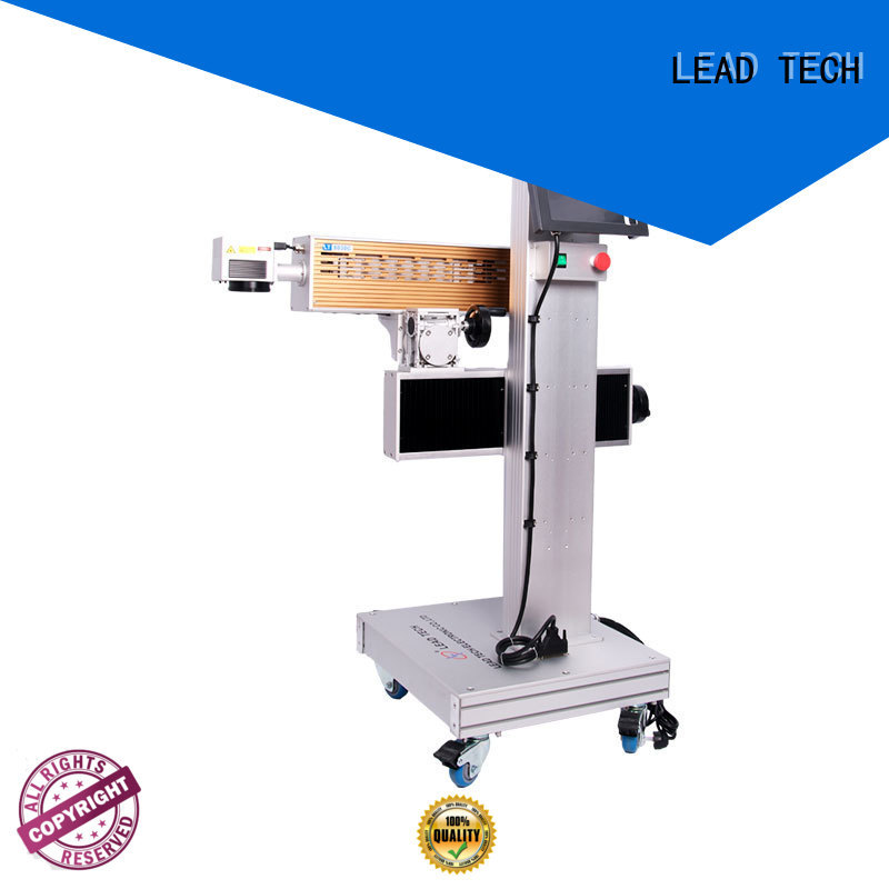 LEAD TECH co2 laser marking machine high-performance best price
