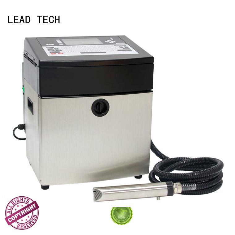 LEAD TECH inkjet coding printer good heat dissipation at discount