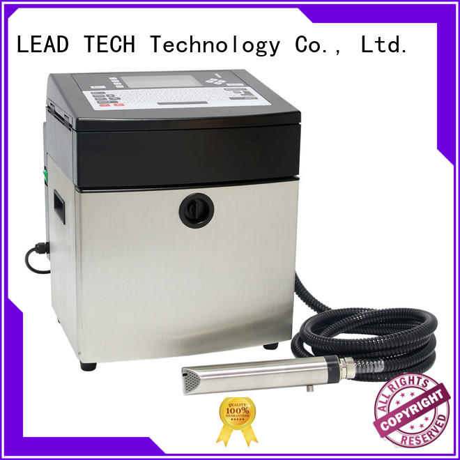 LEAD TECH innovative commercial inkjet printer easy-operated cooling structure