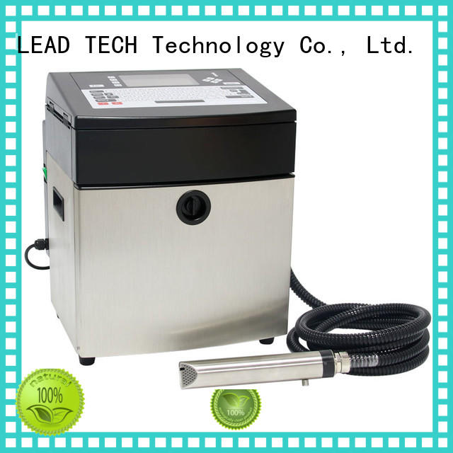 LEAD TECH bulk best continuous ink printer high-performance best workmanship