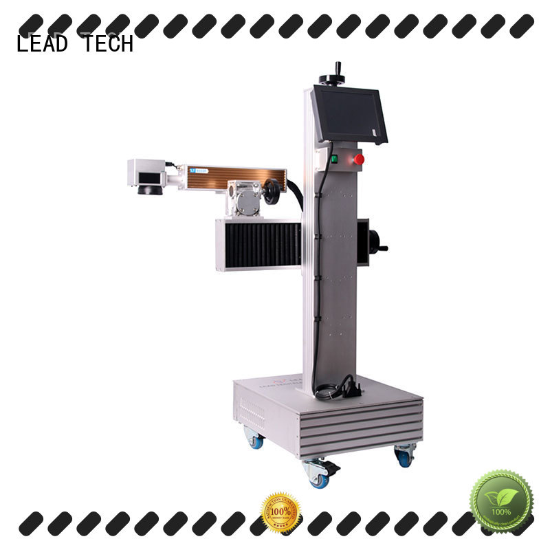 LEAD TECH aluminum structure co2 laser machine easy-operated for sale