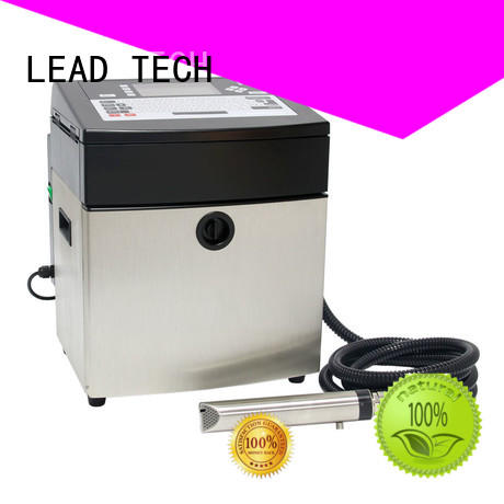 LEAD TECH dust-proof inkjet coding machine cooling structure