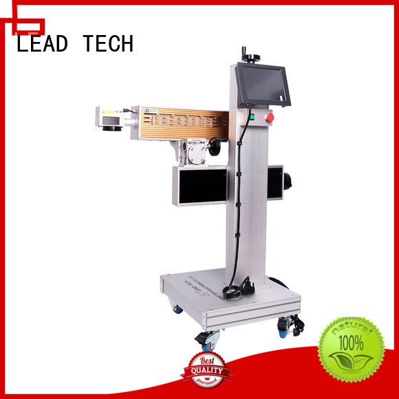 LEAD TECH aluminum structure marking machine manufacturer easy-operated for auto parts printing