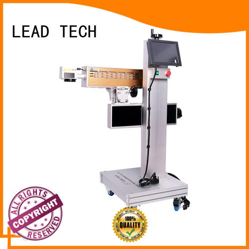 LEAD TECH laser etching printer easy-operated