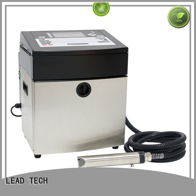 LEAD TECH inkjet date code printer fast-speed at discount